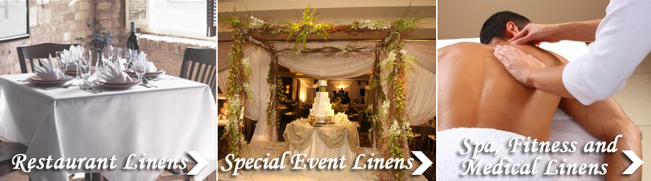 Buckhead Linen Service : Special event and wedding table linens in